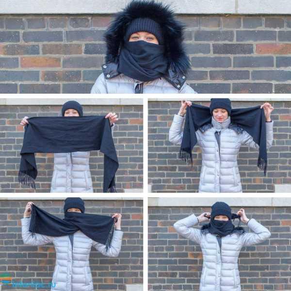 10 способов, как носить шарф зимой: с пальто, с пуховиком, с капюшоном - 321News.ru