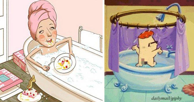 17 причин, почему принимать душ круче, чем купаться в ванне!