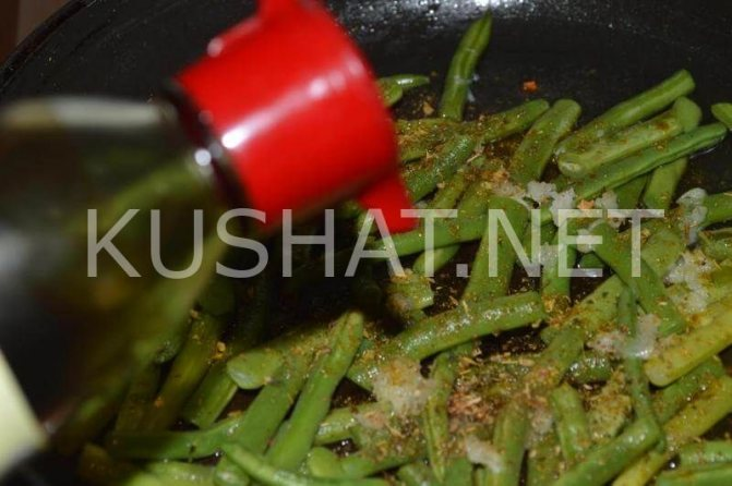 5_стручковая фасоль с соевым соусом