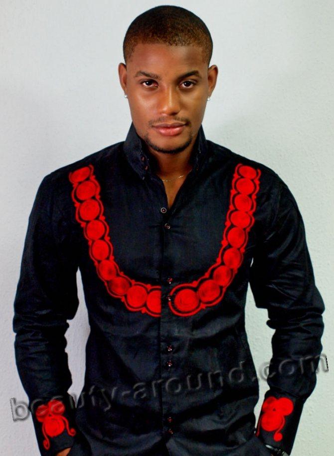 Алекс Экубо красивый нигерийский актер фото