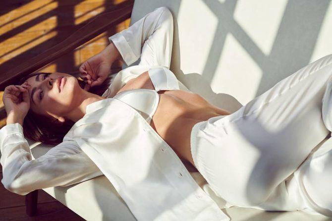 Ани Лорак в пижаме