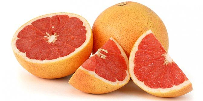 Аппетитный грейпфрут
