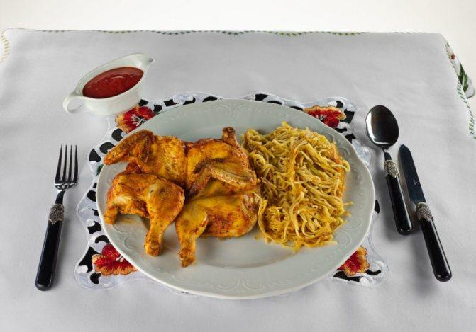 Цыпленок табака в духовке - 7 рецептов