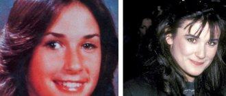 Деми Мур в молодости страдала косоглазием, от которого избавилась в 16 лет
