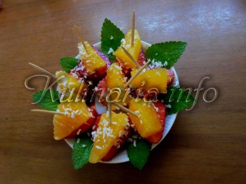 десерт с клубникой без выпечки