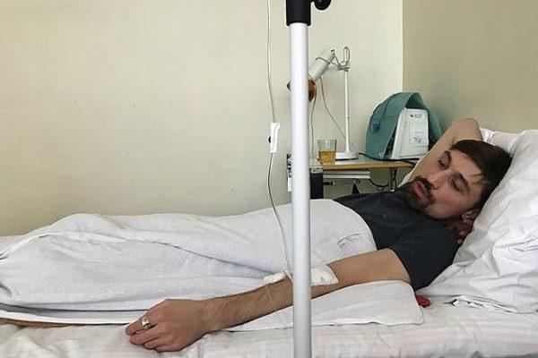 Дима Билан лежал в больнице с болями в позвоночнике