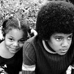 Джанет Джексон и Майкл Джексон в детстве
