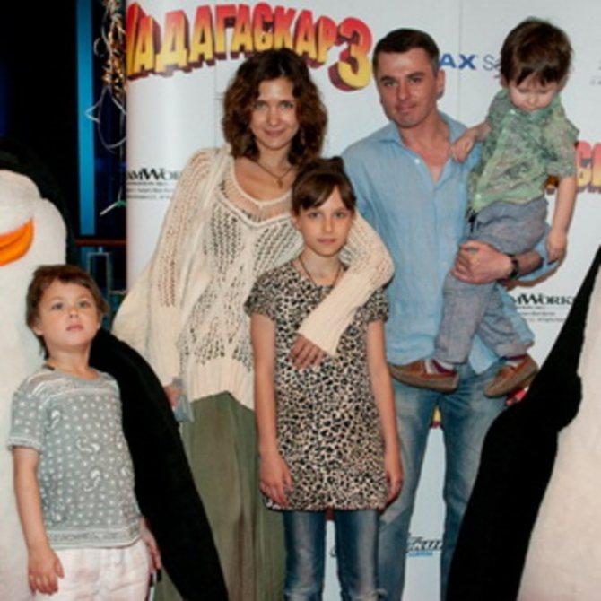 Екатерина Климова: дети актрисы
