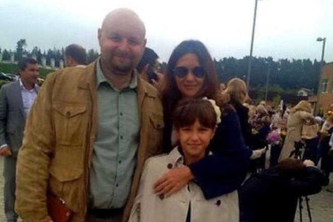 Екатерина Климова и Илья Хорошилов с дочерью