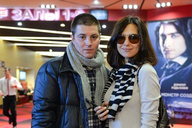 Екатерина Климова с мужем