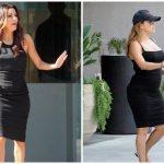 Ева Лонгория до и после беременности