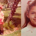 Ева Мендес в детстве