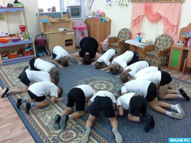 Фотоотчет «Комплекс гимнастических упражнений для детей от 2 до 6 лет»