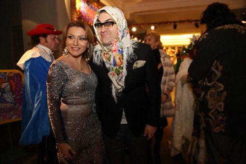 Гарик МАРТИРОСЯН с супругой Жанной