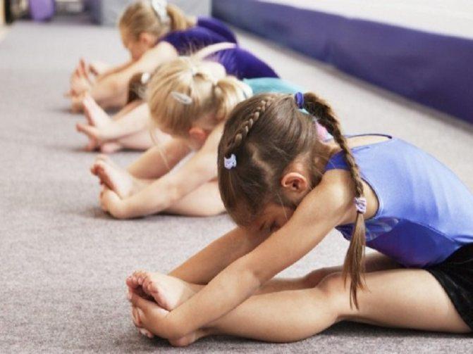 Гимнастика для девочек возраст
