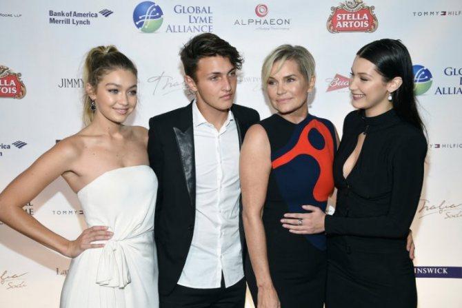 Хадид - семья известных моделей