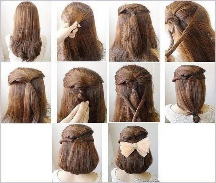 Как делать очень крутые прически на короткие волосы