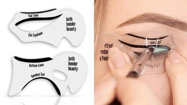 Как нарисовать стрелки на глазах