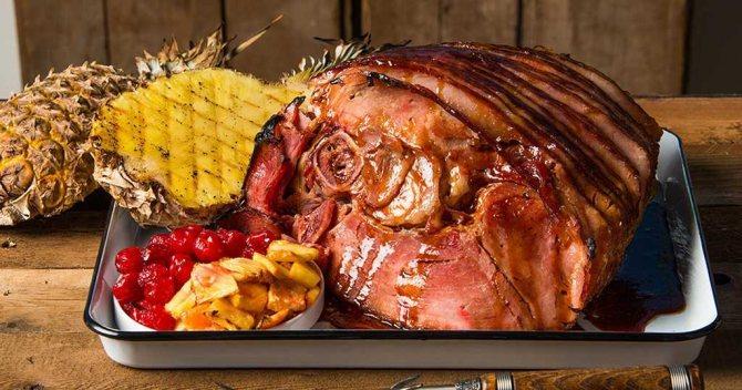 Как приготовить свиной окорок на сковороде?