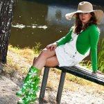 Как выбрать и с чем носить резиновые сапоги