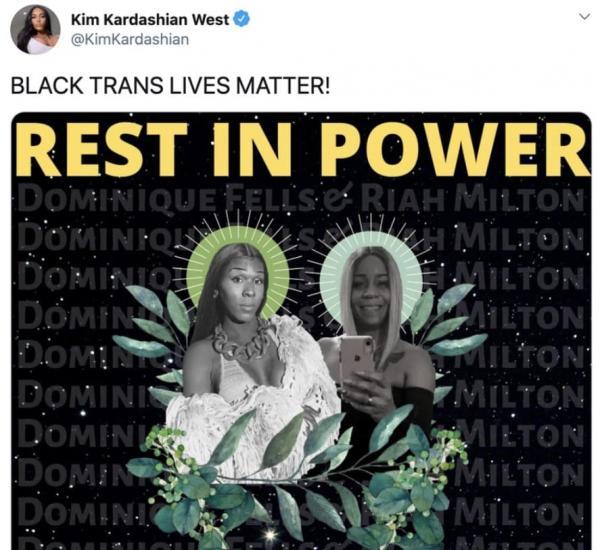 Ким Кардашьян хотела почтить память погибших в США девушек. Но всё перепутала и обеспечила себе критику