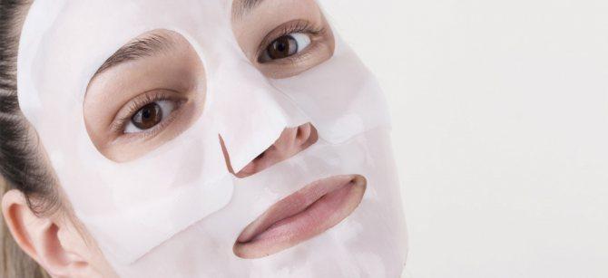 Корейские гидрогелевые маски для лица