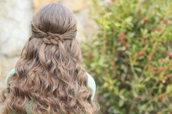 Красивые повседневные и праздничные прически на длинные распущенные волосы