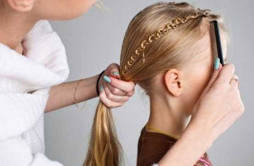 Красивые прически на длинные волосы для девочек. Фото, как сделать просто пошагово своими руками
