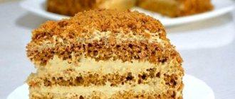 Крем для медового торта со сгущенкой Это очень нежный