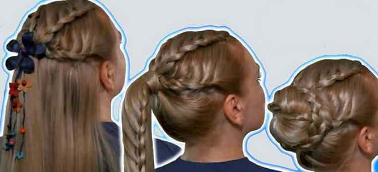 Крутые прически на длинные волосы