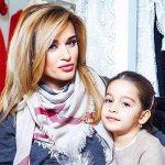 Ксения Бородина с дочкой Марусей. Фото: Личная страничка героя публикации в соцсети
