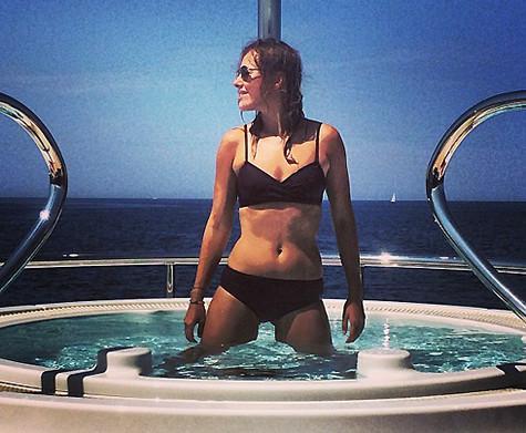 Ксения Собчак в бикини. Фото: Instagram.com.