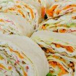 Лаваш с крабовыми палочками и корейской морковкой: рецепт, особенности приготовления