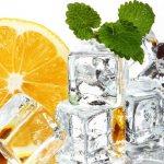 Лед для свадебного лимонада