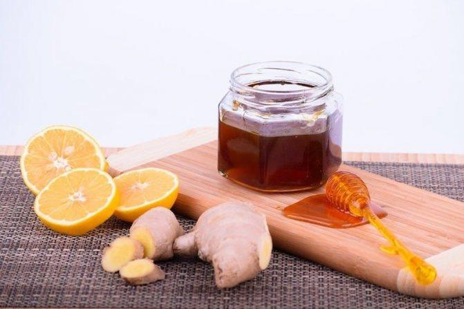 лимонно-медовая смесь