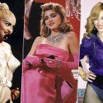 Мадонна лучшие образы мода стиль аксессуары украшения