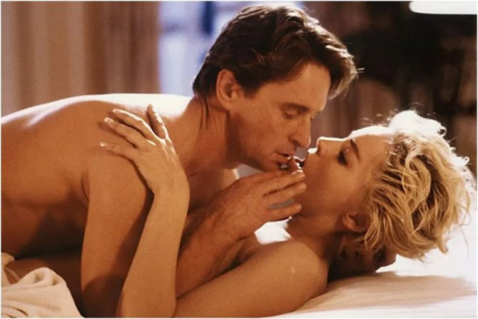 Майкл Дуглас и Шэрон Стоун – секс-символы конца XX века
