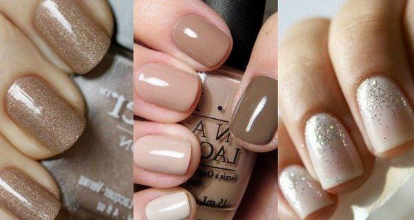 Маникюр гель лаком на короткие ногти. Фото с новинками дизайна: лунный, матовый маникюр, кошачий глаз, с блестками, стразами