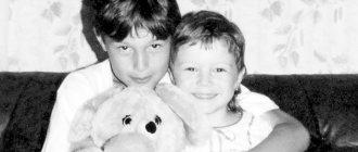 Марат Сафин с сестрой Динарой