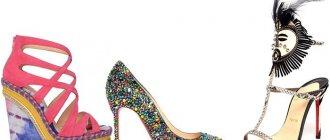 Модная женская обувь яркой расцветки, весна-лето 2013 фото