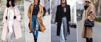 Модное стеганое пальто — с чем носить