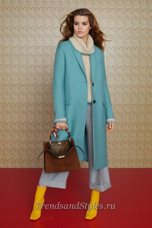 модное женское пальто 2020