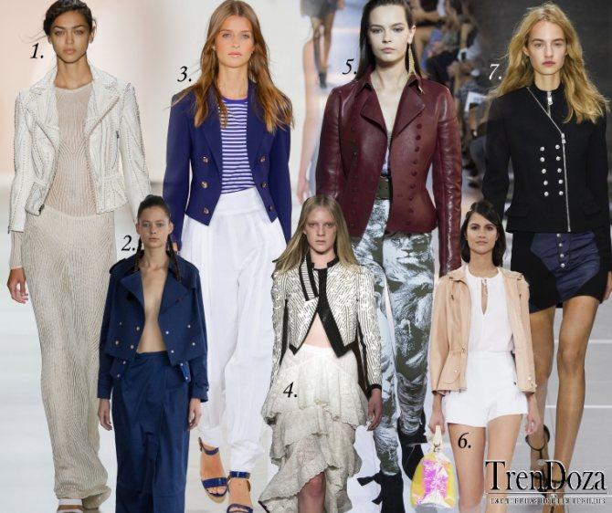 Модные куртки спенсер 2020 Весна и Лето