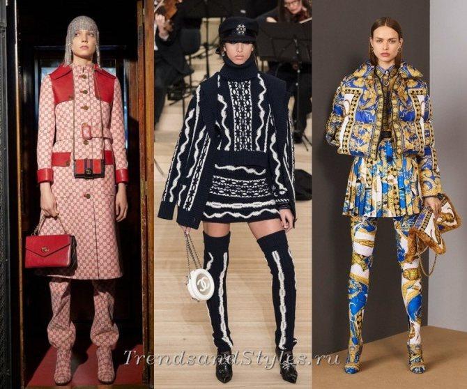 модные образыосень-зима 2018-2019 - тренды