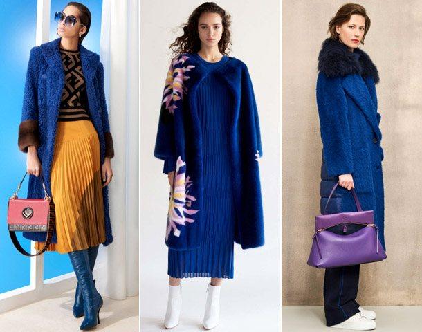 Модные пальто из эко-меха 2019