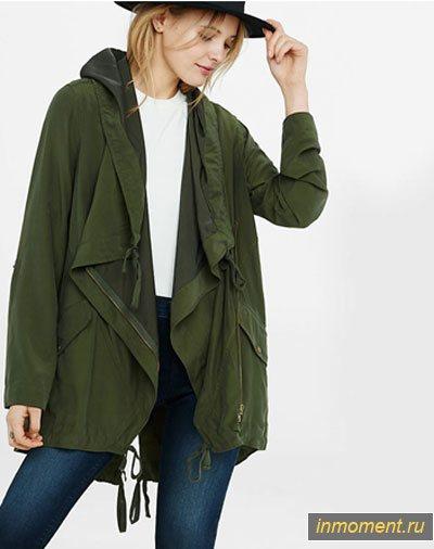 модные плащи осень 2018