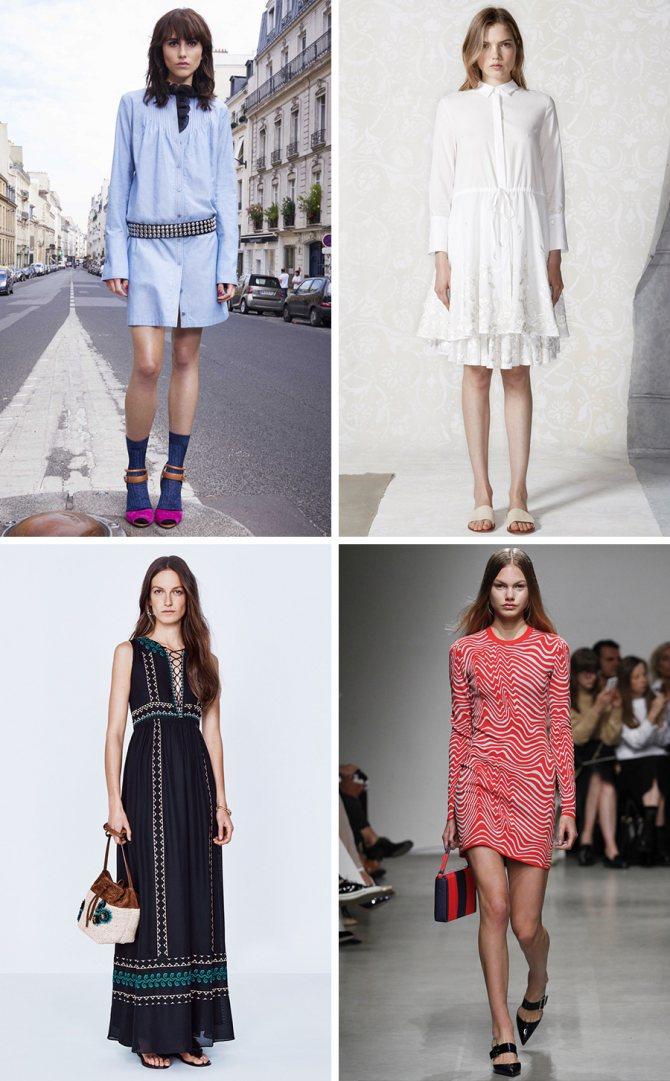 Модные платья на каждый день весна-лето 2019