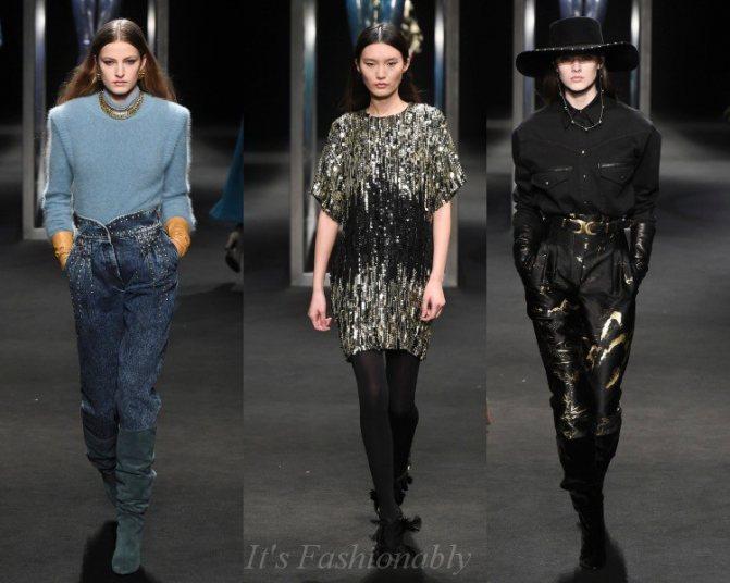Модные тенденции осень зима 2018-2019