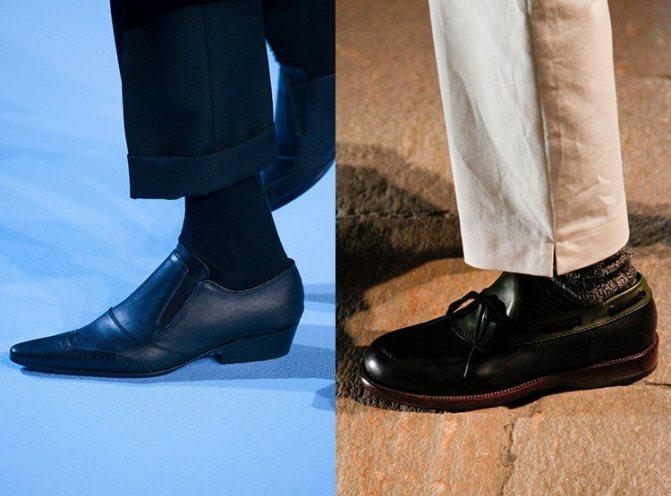Модные туфли осень-зима 2017-2018: Haider Ackermann, Bottega Veneta