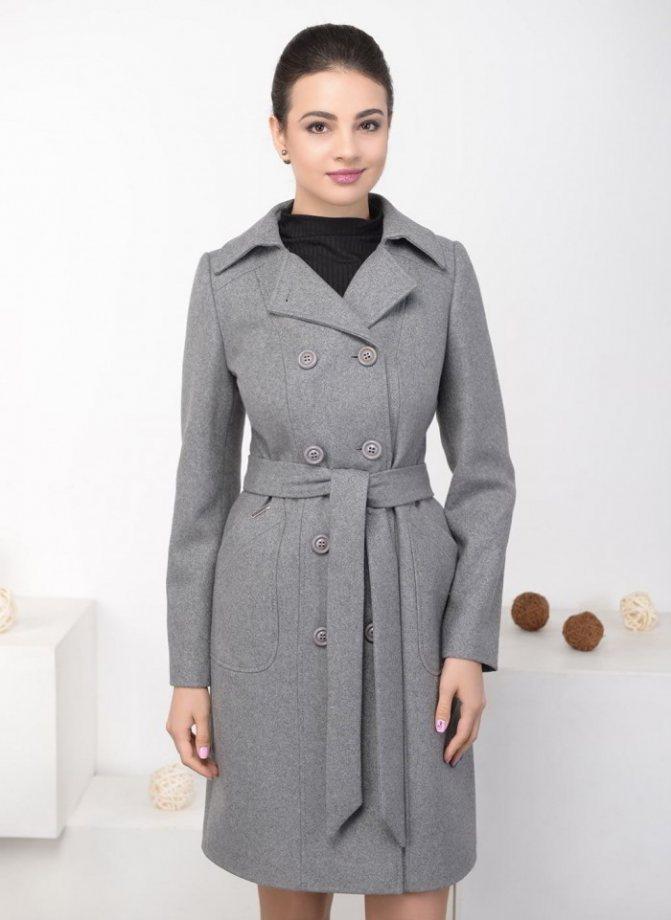 Модные женские двубортные пальто осень-зима 2019-2020